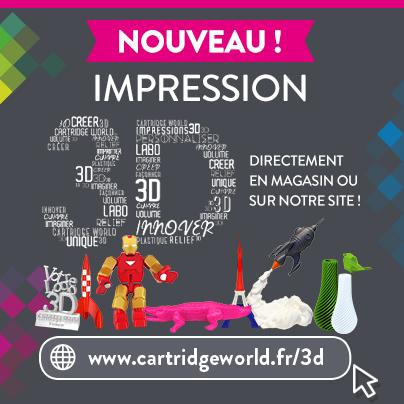 3D - Cartridge World Tarbes